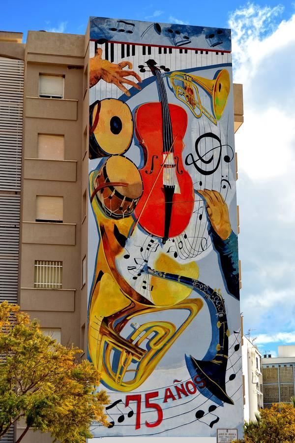 Mural Aires de musica