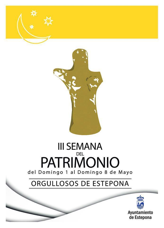 Cartel III Semana del Patrimonio Mayo 2016